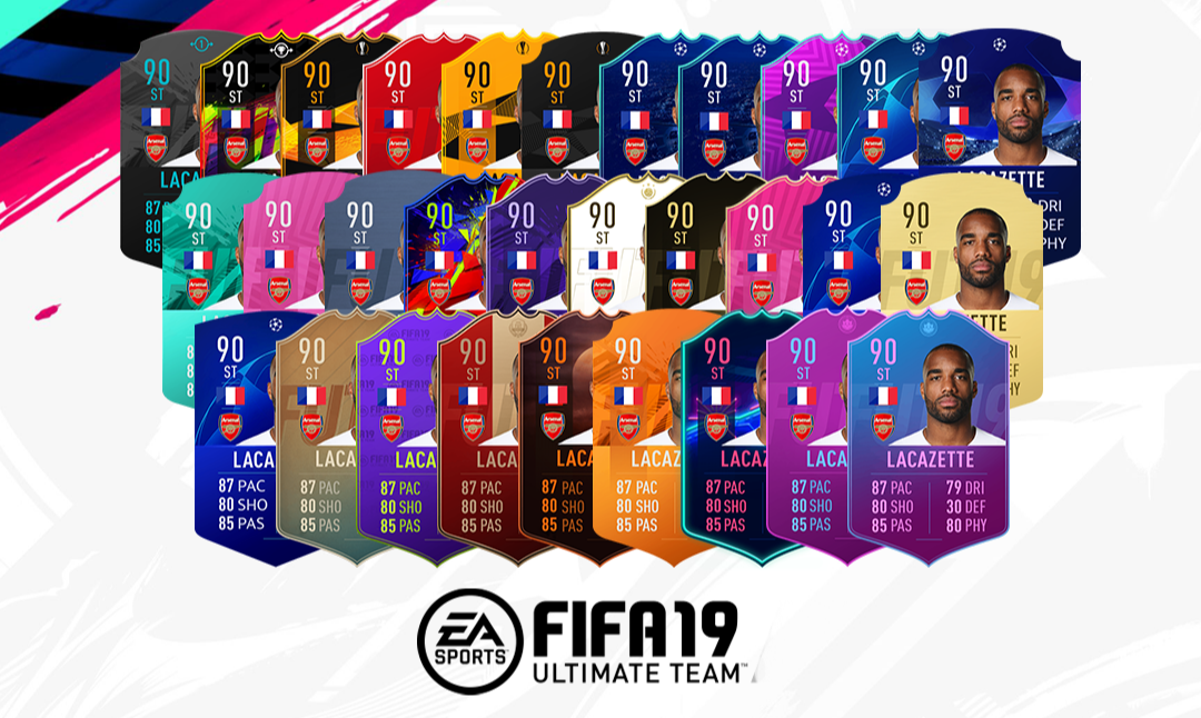 Fifa 19 Card Psd Template